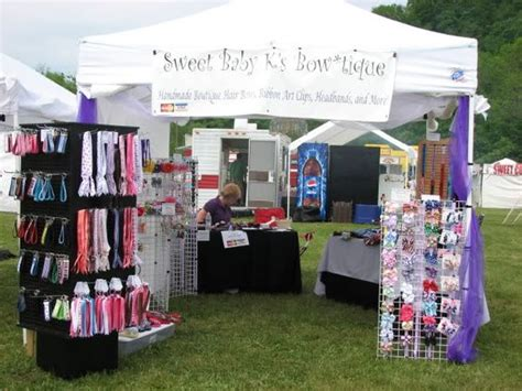 craft show display hip girl boutique llc free hair bow girls boutique layout and hair bows on pinterest