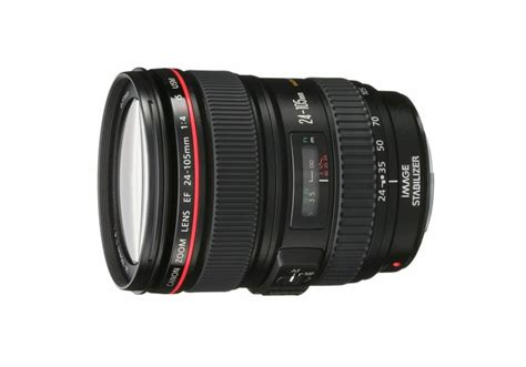 canon ef 24 105mm f 4 l is usm lens for canon eos slr