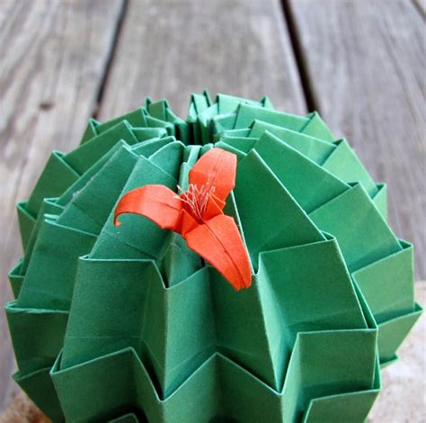 Origami Cactus - i only sediments for you inspired desert
