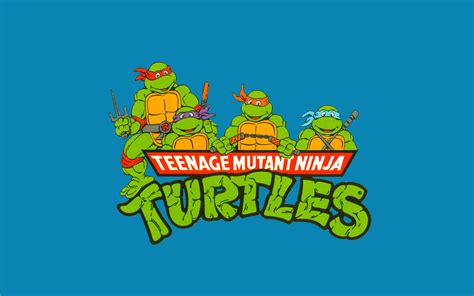 tmnt wallpaper classic teenage mutant ninja turtles logo wallpaper