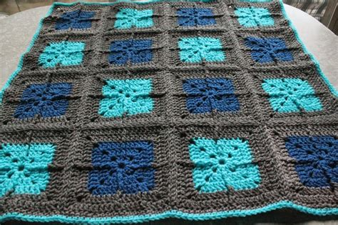 Squares Baby Blanket by Boy Blue Crocheting A Sweet Square Baby