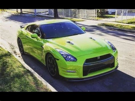 700 hp modified nissan gtr track edition the smoking