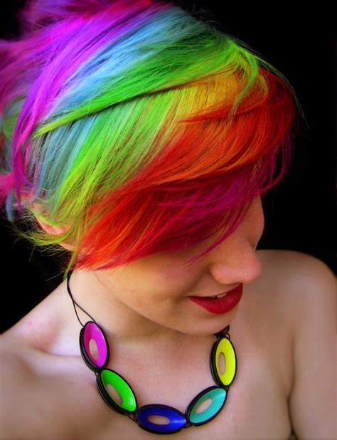 can i use wild ombre on short hair 25 impulsive rainbow hair color ideas hairstyle for women