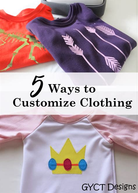 design handmade clothes 5 ways to customize handmade clothing gyct designs
