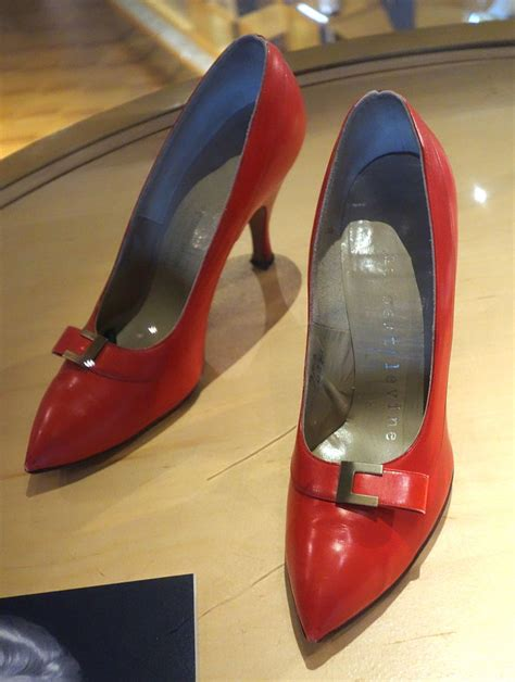 file high heel shoes worn by marilyn in montreal