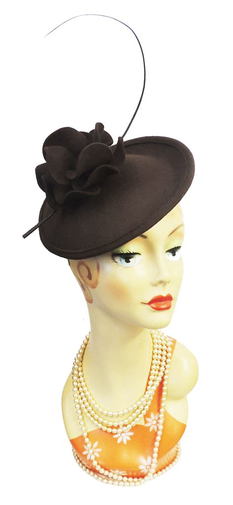 New Vintage Hats At Candysayscouk by New Retro 1940s 50s Retro Flower Saucer