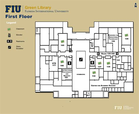 floor plans medical academic center library floorplans fiu libraries