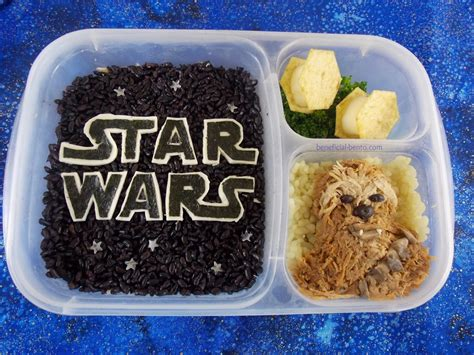 Wars Simple Lunch Box Black wars bento may the 4th be with you beneficial bento