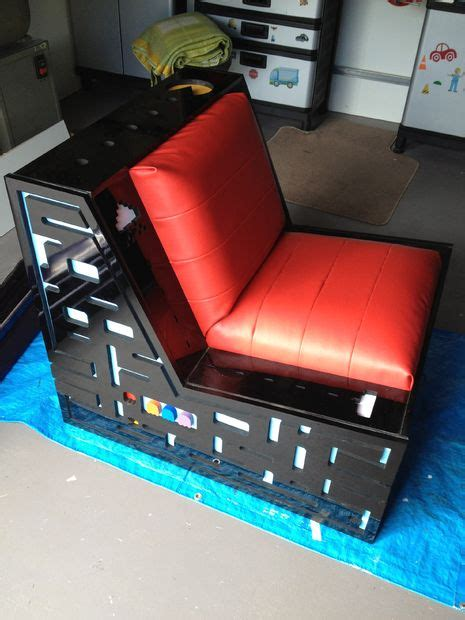 gaming futon ultimate pacman space invaders gaming chair with speakers