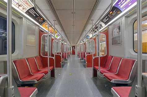 Auto Upholstery Toronto by What Ttc Subway Cars Used To Look Like