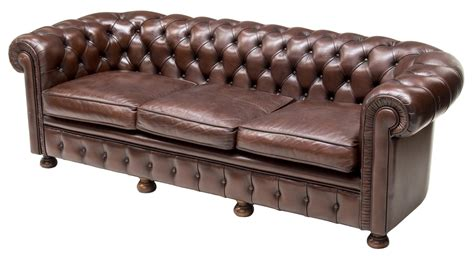 buttoned leather sofa chesterfield buttoned brown leather sofa the crier