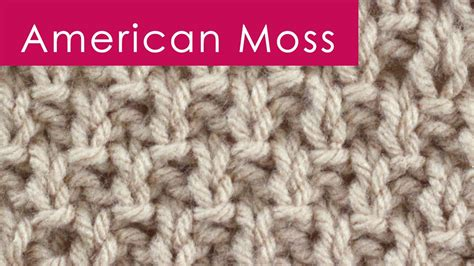 knit moss stitch the moss stitch st s day knitting diy