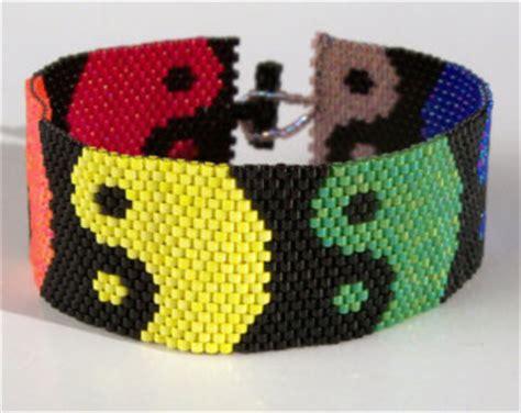 Rainbow Loom Original Refill Yin Yang yin yang bracelet pattern
