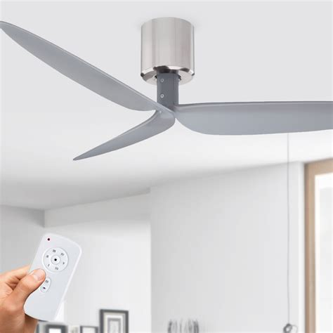chrome ceiling fan with remote dc ceiling fan with remote 52 brushed chrome