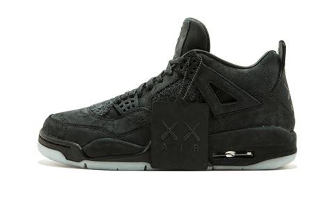 Air 4 Retro Kaws Black how to buy the black kaws air 4 sneaker bar detroit