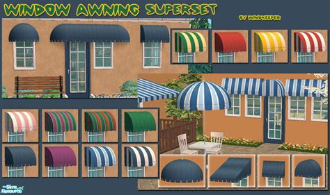 sims 3 awning windkeeper s window awning superset