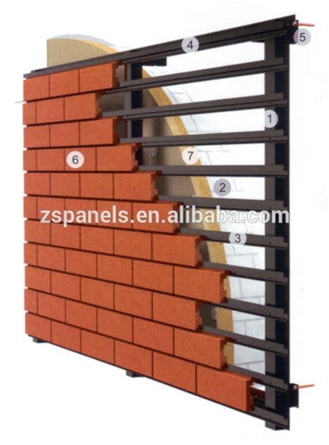 terracotta cladding clinker brick slip tilesfacade