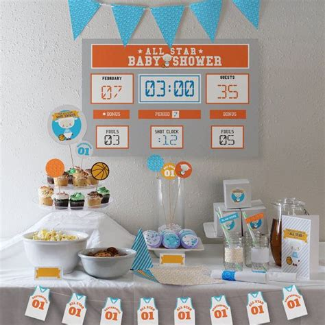 Basketball Baby Shower by 1000 Ideas About Basketball Baby Shower On