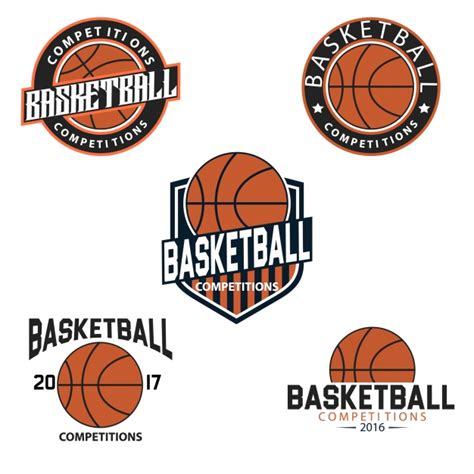 Basketball Logo Templates Vector Free Download Basketball Team Logo Template