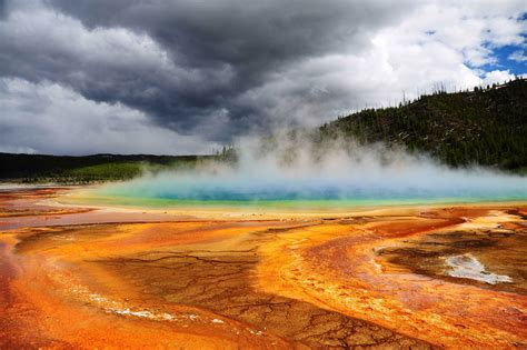 grand-prismatic-spring-yellowstone-national-park | The ... Grand Prismatic Spring Facts