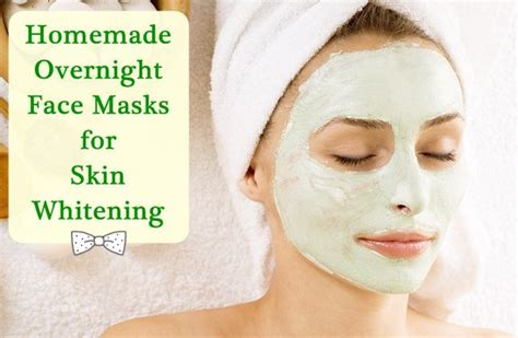 diy overnight mask overnight skin whitening mask mask for fair skin
