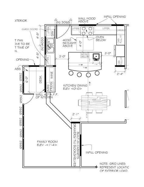 kitchen floor plans island u shaped kitchen floor plans with island
