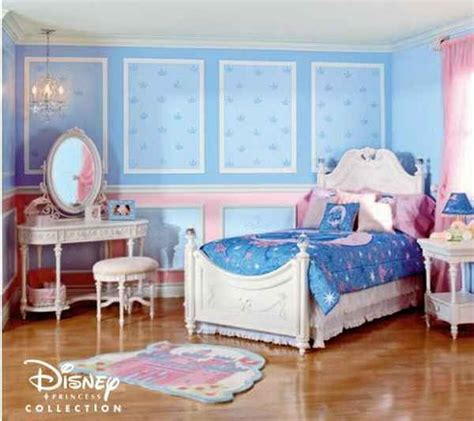 Disney Themed Bedrooms by Princess Cinderella Theme Disney Bedroom