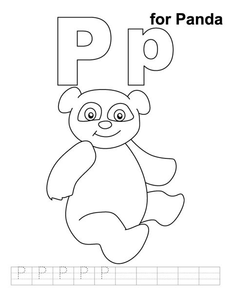 Letter P Coloring Pages Az Coloring Pages