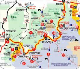 road map of utah and colorado million dollar highway map continuing along scenic