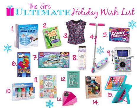 christmas gift ideas for girls or by secret santa girls
