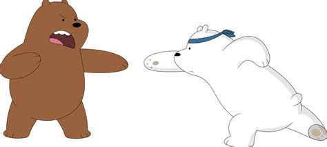 Grizzly Webarebears the grizzly vs the polar by porygon2z on deviantart