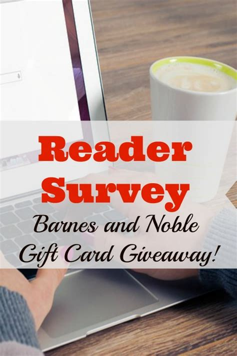 Barnes And Noble Electronic Gift Card - reader survey with barnes and noble gift card giveaway orthodox motherhood