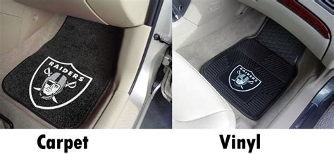 Oakland Raiders Floor Mats by Nfl Floor Mats Seat Covers Unlimited