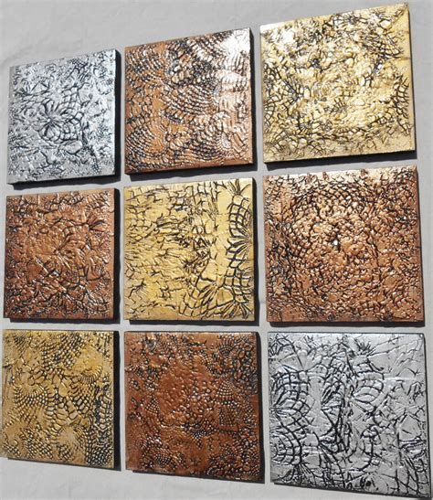 Custom Wooden Painting textured wood wall abstract multi panel paintings
