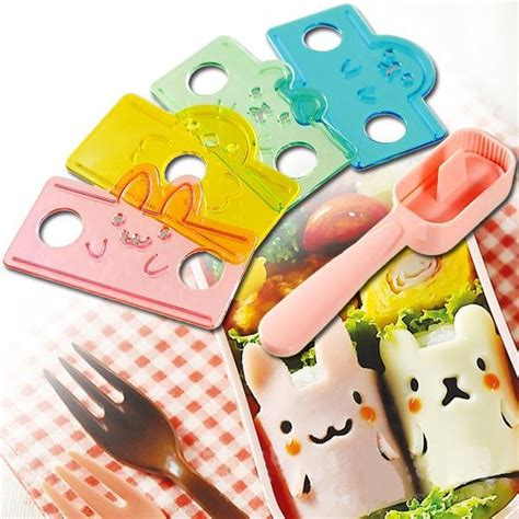 Bento Animal Ham Cheese Cutter Rice Mould Kopen Wholesale Zoete Rijst Cake Uit China Zoete