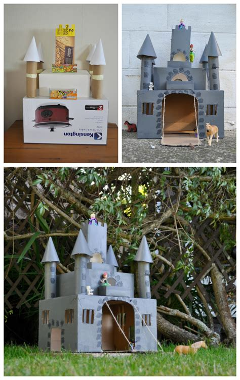 How To Make A Paper Castle Easy - box castle be a