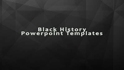 Black History Powerpoint Template For Full Old Story Powerpoint Themes Presentation Ideas Black History Powerpoint Templates
