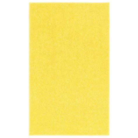 yellow accent rug nance carpet and rug ourspace bright yellow 5 ft x 7 ft