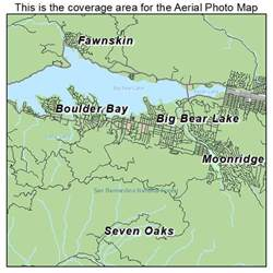 aerial photography map of big lake ca california