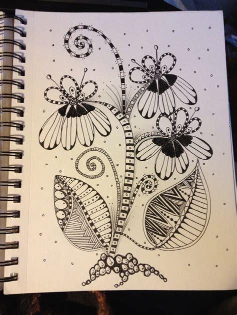 flower doodle quilt pattern 278 best doodle flowers images on