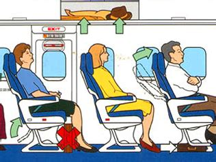 Airplane Safety Card Template by Airways Offers Course On How To Survive A Plane