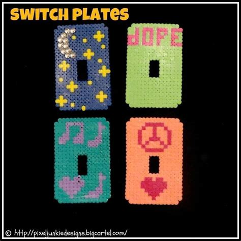 perler creations awesome perler bead creations 183 a pair of pegboard bead