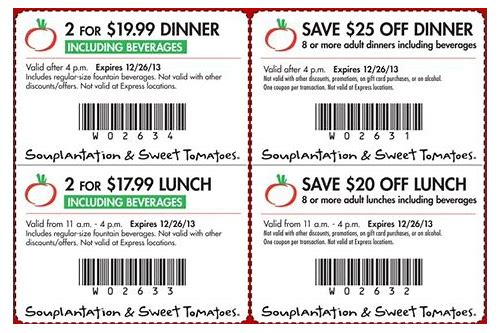 sweet tomatoes coupons code