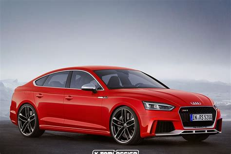 Audi Rs5 0 100 by Audi Rs5 Sportback And Top Secret Rs Model Coming To