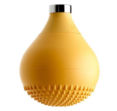 silicone per doccia soffione in silicone giallo drop
