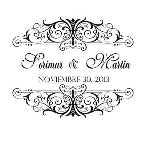 Wedding Fonts For Logo Design by Wedding Logo On The Invitation Or The Menu I Like