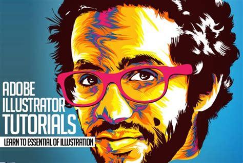 illustrator tutorial digital painting illustrator tutorials 25 new tutorials to improve vector