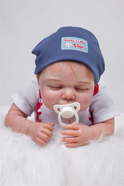 Handmade Dolls For Babies - 20 quot sleeping reborn baby dolls real looking baby realistic