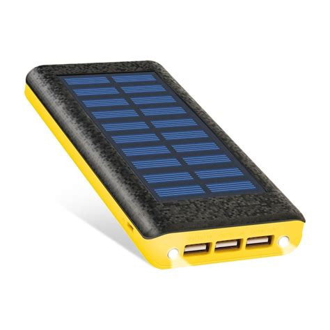 the best portable solar charger solar charger ruipu 24000mah portable solar power bank