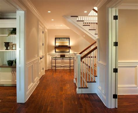 lovely foyer design with staircase colonial home